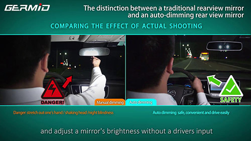 Auto Dimming Mirror